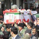 پیکر خلبان شهید «اشرفی» در شهرستان بناب تشییع شد