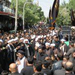 شور حسینی مردم بناب در روز تاسوعا/ تصاویر
