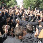 عزاداری عاشورائیان بناب در سوگ اباعبدالله الحسین (ع) و شهدای کربلاء/ تصاویر