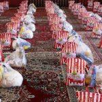مرحله سوم رزمایش کمک مومنانه با اهدای ۱۲۰۰ بسته غذایی به نیازمندان در شهرستان بناب برگزار شد