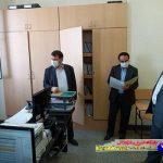 بازدید سرزده رئیس کل دادگستری آذربایجان شرقی از دادگستری بناب
