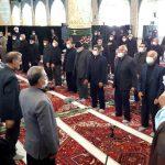 مراسم عزاداری امام حسن عسکری (ع) در بناب برگزار شد
