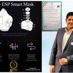 اختراع نسل جدید ماسک تنفسی هوشمند توسط مخترع و پژوهشگر بنابی