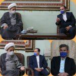 دیدار و گفتگوی فرماندار شهرستان بناب باحجت الاسلام والمسلمین باقری بنابی