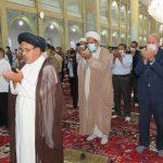 نماز عید قربان در بناب برگزار شد