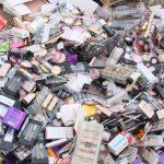کشف لوازم آرایشی و بهداشتی خارجی قاچاق در بناب