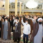 تجمع طلاب و روحانیون بناب در محکومیت کشتار شیعیان افغانستان برگزار شد